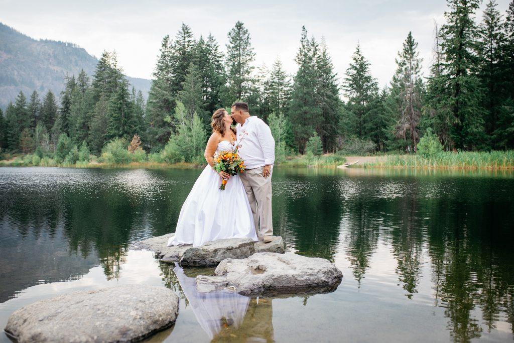 Freestone Inn Methow Valley Wedding