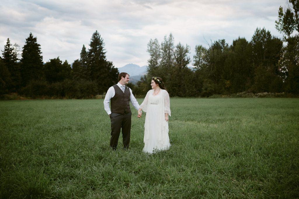 Spring Creek Ranch Methow Valley Wedding
