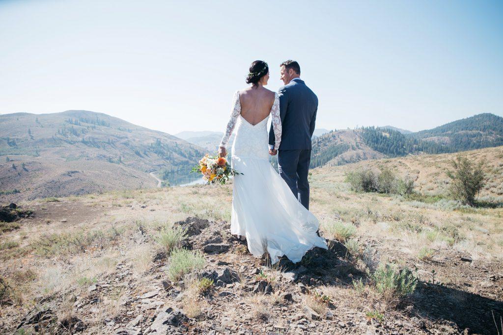 Sun Mountain Lodge Methow Wedding