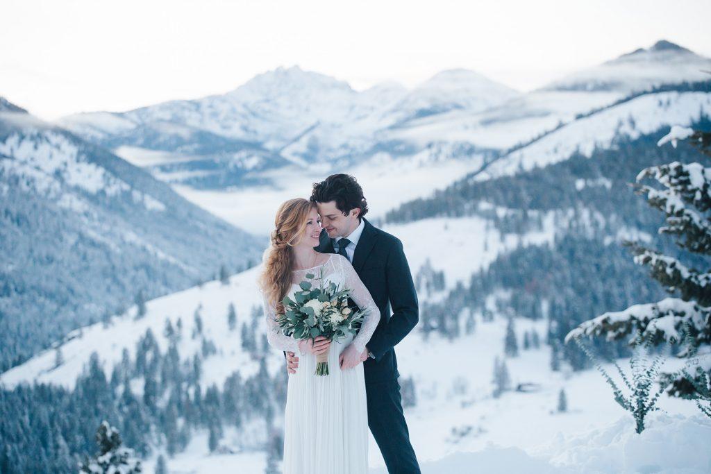 Winter Wedding Sun Mountain Lodge
