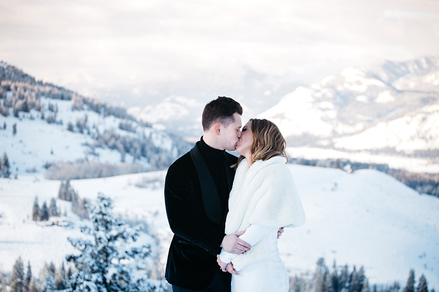 Winter Mountain Elopement