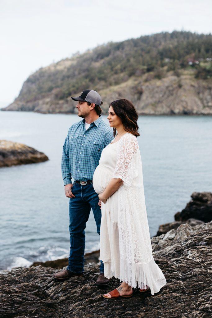 Whidbey Island Maternity Photographer
